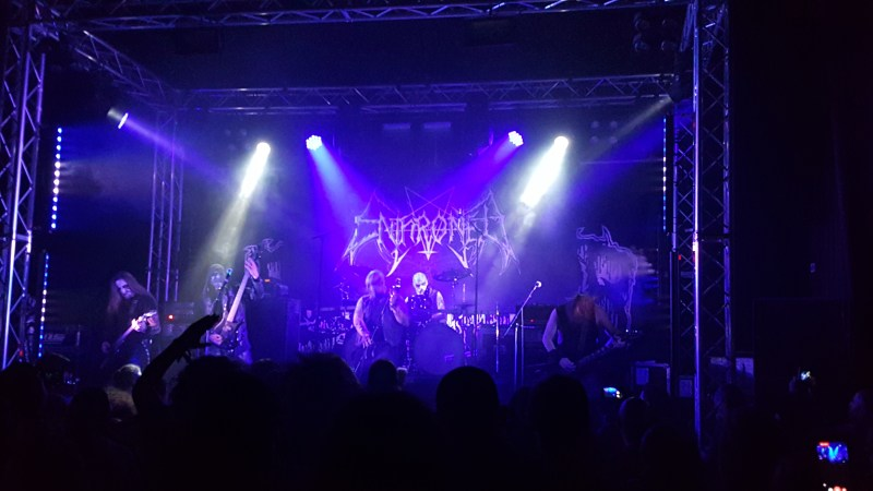 Enthroned live @ The Dome, London. Photo Credit: James Weaver