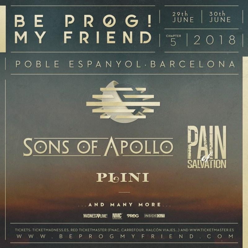 Be Prog! My Friend 2018 - Announcement 2