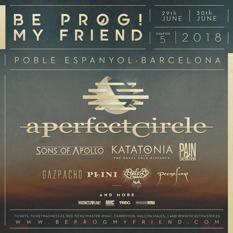 Be Prog! My Friend 2018 - October 30