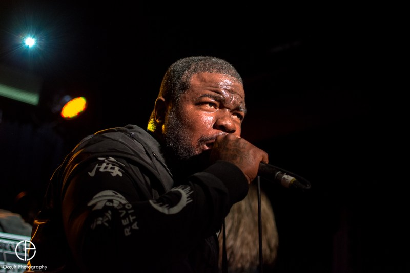Oceano live @ Club Academy, Manchester. Photo Credit: Occult Photography