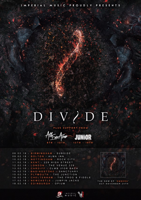 Divide UK Tour 2017