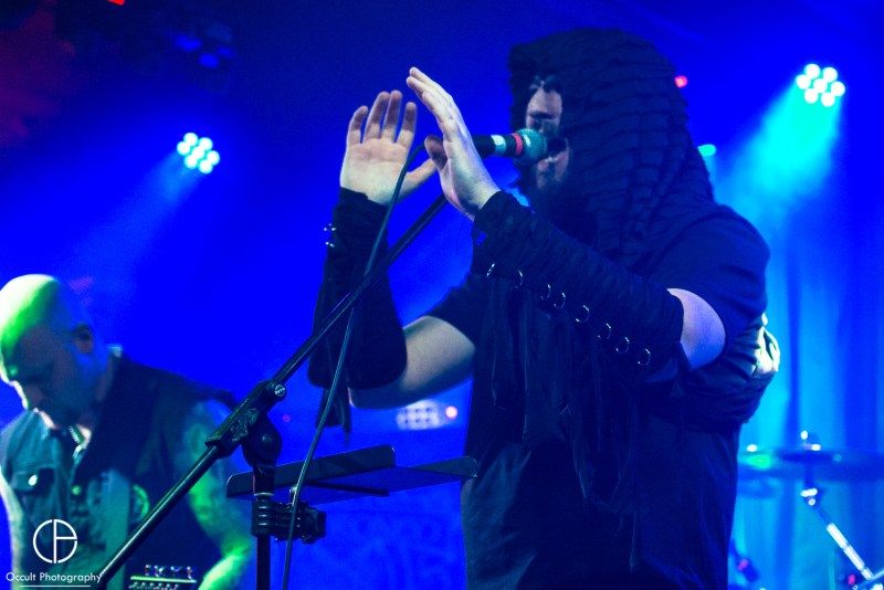 Hecate Enthroned live @ Rebellion, Manchester. Photo Credit: Occult Photography