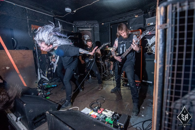 Venom Prison live @ The Star and Garter, Manchester. Photo Credit: Sabrina Ramdoyal Photography