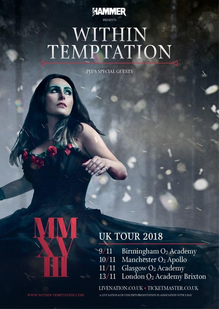 Within Temptation European/UK Tour 2018