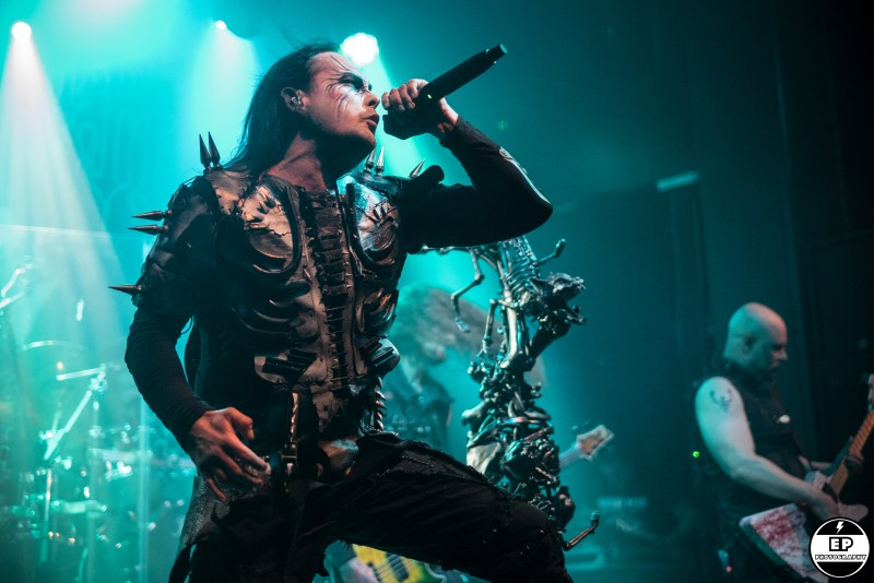 Cradle of Filth live @ Academy 2, Manchester. Photo Credit: Evangeline Parkinson Photography
