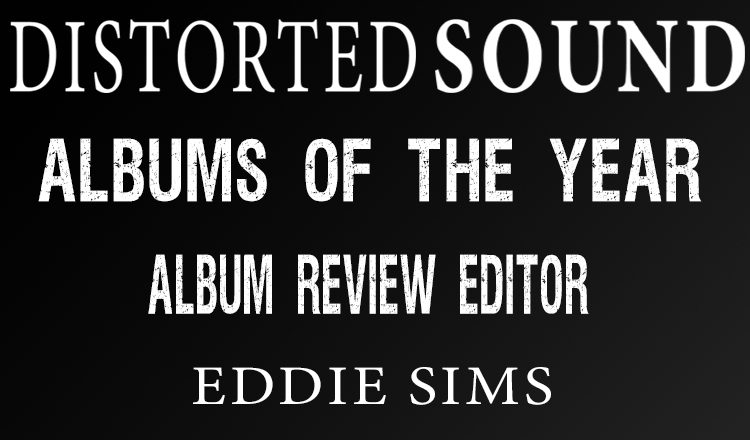 Distorted Sound Album of the Year 2017 - Eddie Sims