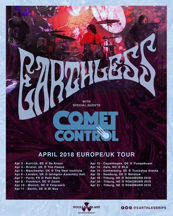 Earthless European Tour 2018