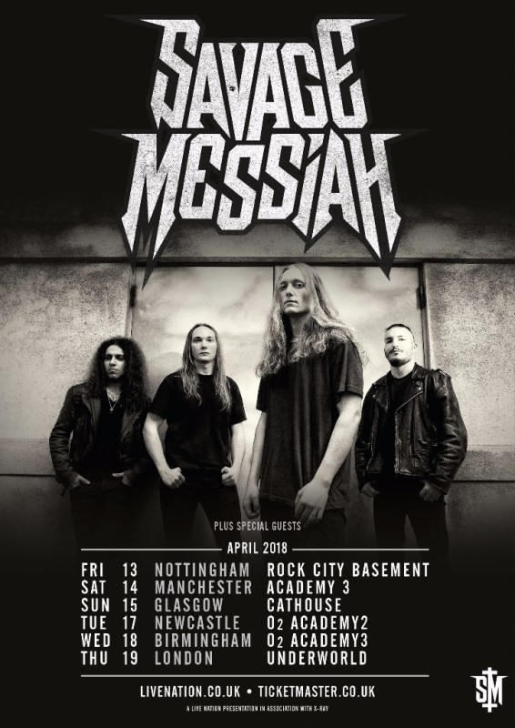 Savage Messiah UK tour 2018