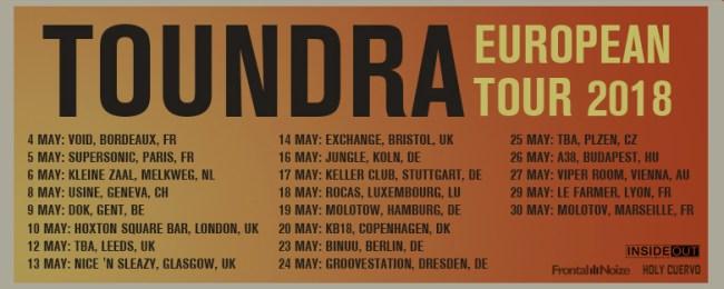 Toundra European Tour 2018
