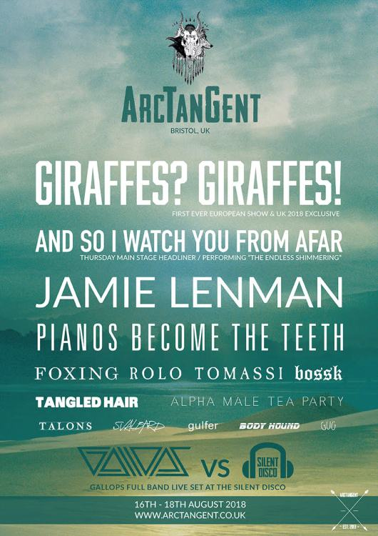 ArcTanGent Festival 2018 - Announcement 1