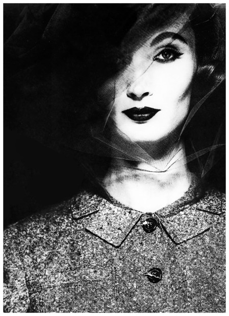 Evelyn Tripp, fashion photograph for Dayton's Oval Room, New York, c.1962