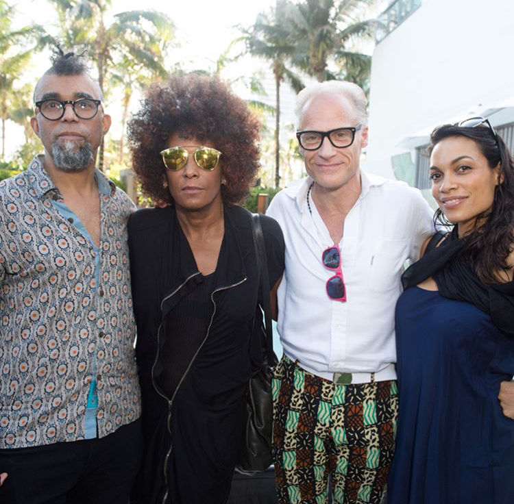 Rosario dawson_Art Basel Miami_Distract TV