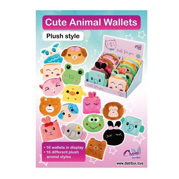 Imagen Colección Cute Animal Wallets   Charm Distribox