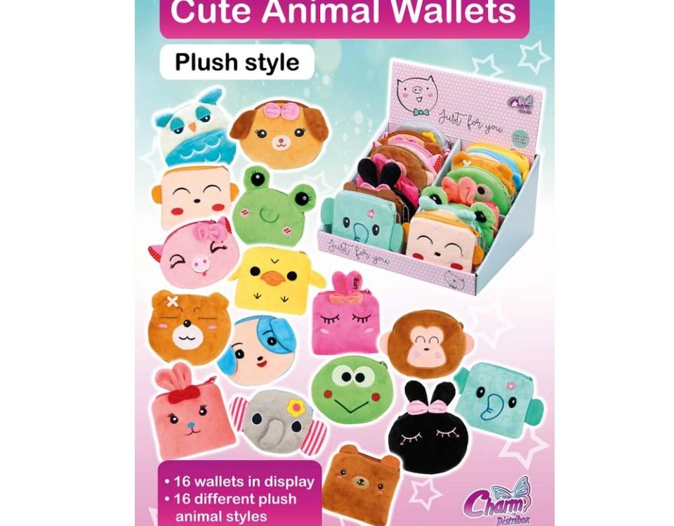 Imagen Colección Cute Animal Wallets | Charm Distribox