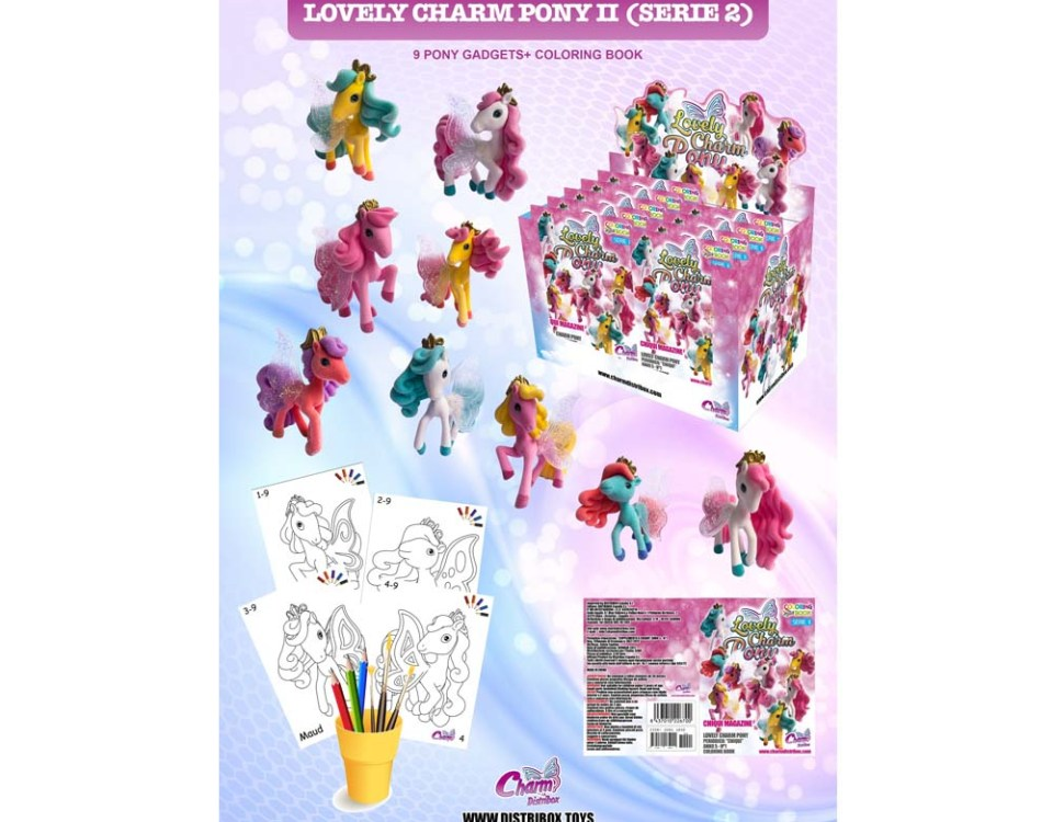 Póster Colección Charm Pony 2