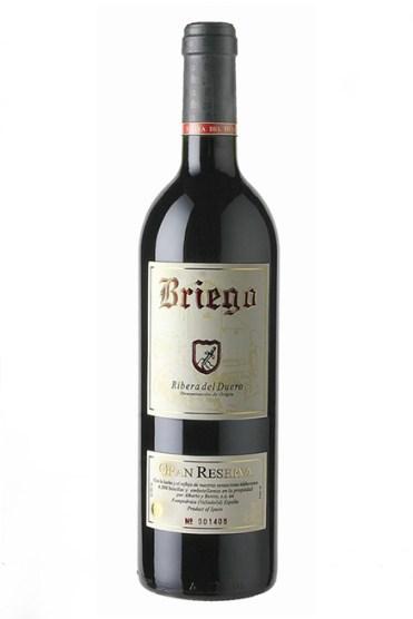 BRIEGO GRAN RESERVA 75 cl cosecha 2009