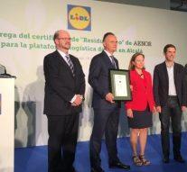 """Lidl la primera empresa del sector en España con el sello """"Residuo Cero"""""""