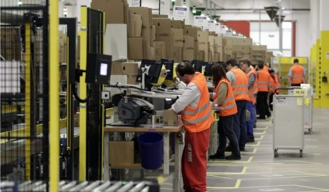 Amazon una oportunidad para encontrar empleo en Toledo