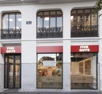 Five Guys planea expandirse por España y llegar a Portugal en 2018