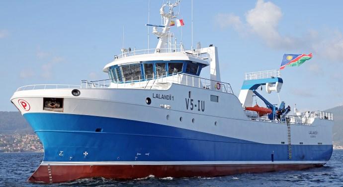 Nueva Pescanova renueva su flota y se dirige a Namibia