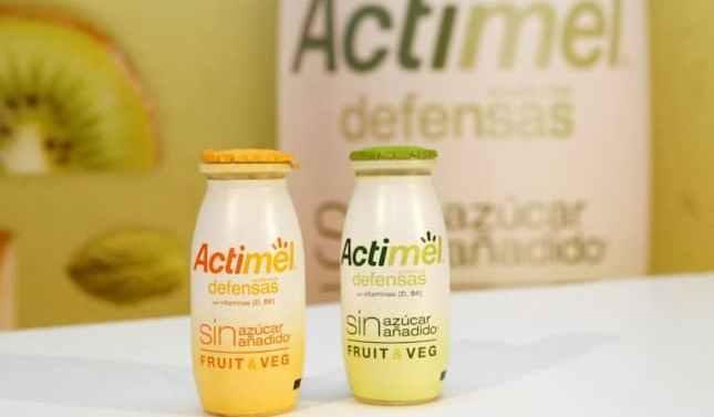 Danone  lanza su nuevo Actimel Fruit&Veg sin azúcares añadidos