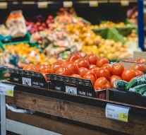 Las ventas de los productos frescos caen un 2,1% en 2019