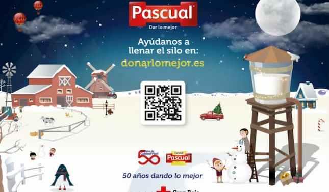 Calidad pascual felicita las fiestas con la campaña solidaria #DonarLoMejor