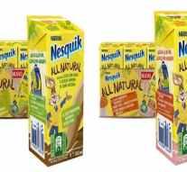 Nestlé lanza los batidos 'Nesquik All Natural' más sostenibles y saludables