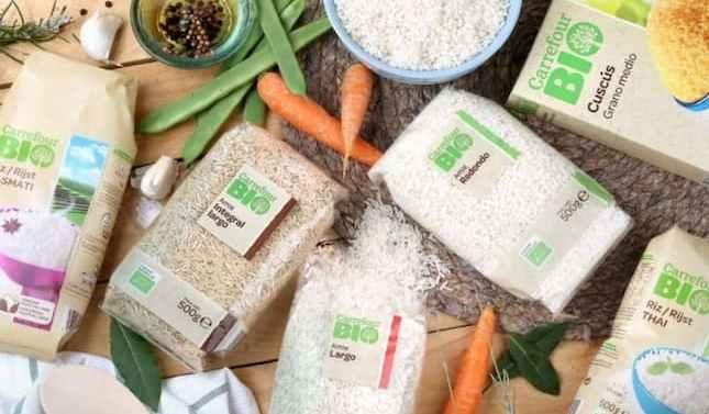 Carrefour lanza tres nuevas referencias de arroz ecológico