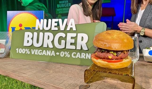 Lidl presenta su hamburguesa vegana para competir con Beyond Meat