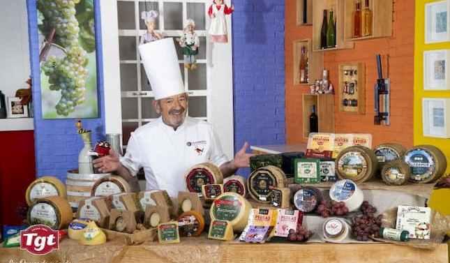 Grupo TGT y Karlos Arguiñano se unen para potenciar el consumo de queso en la dieta