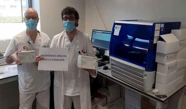 Trabajadores de Nestlé impulsan un crowdfunding solidario para comprar material sanitario