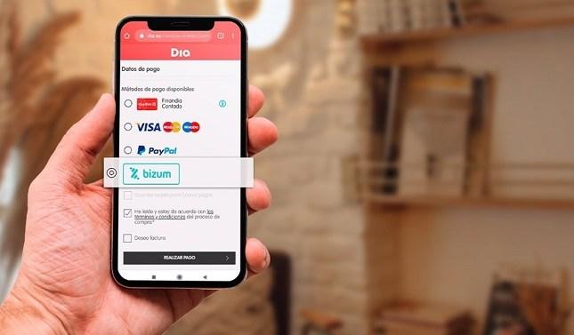 DIA permitirá a sus clientes pagar las compras con Bizum