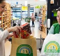 El uso de bolsas de papel crece un 35% en los últimos tres años