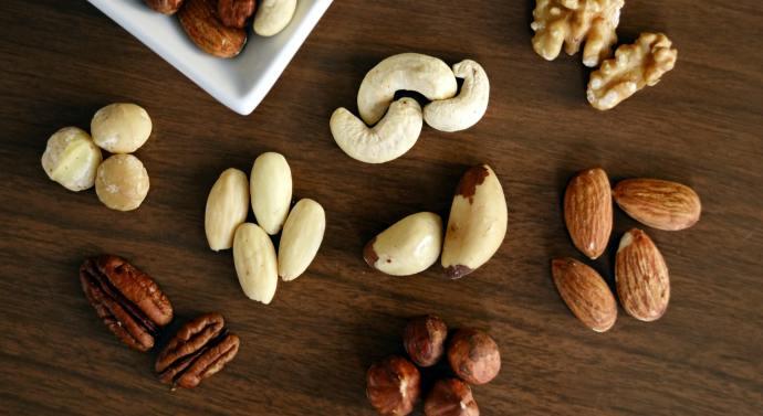 Añade los frutos secos a tu dieta