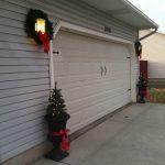 Holiday Home Decorating Garage Door Decor Completes The Look Distribudoors