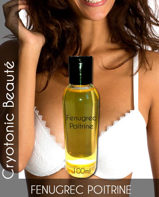 Fenugrec huile 100ml pour grossir des seins naturellement