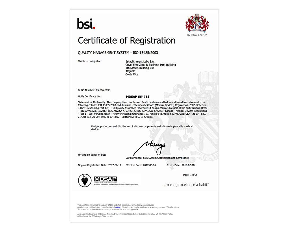 MDSAP-664713-Certificates