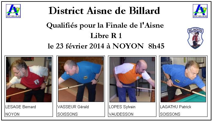 finales de l aisne libre du 23 fevrier 2014 modifications district aisne billard