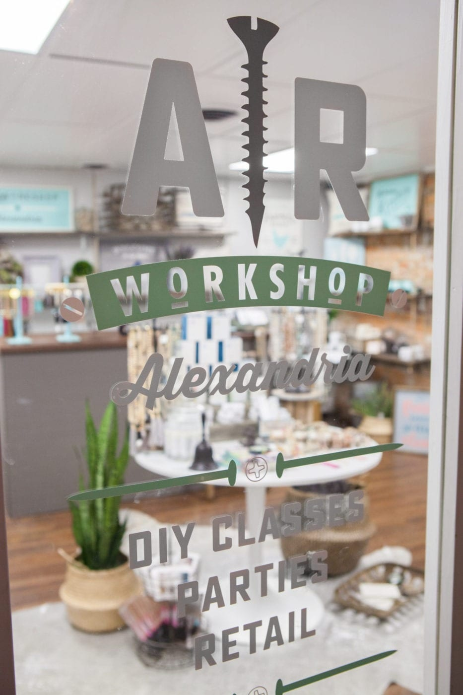 AR Workshop Alexandria Is A Boutique DIY Workshop Offering Hands On Classes  For Creating Custom Home Decor In A Cozy Lounge Style Atmosphere.