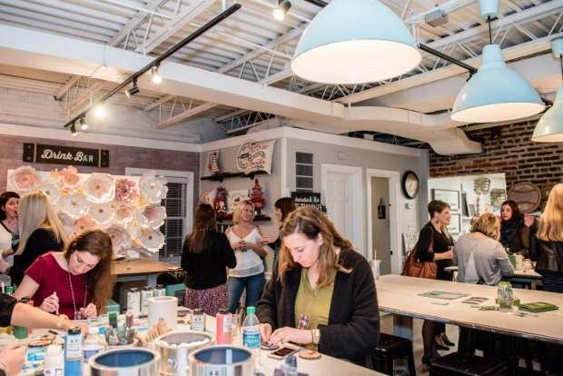District Bliss Vendor Social Networking Event with AR Workshop Alexandria DIY Workshop