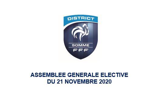 assemblee generale elective du 21 11 20 district de football de la somme