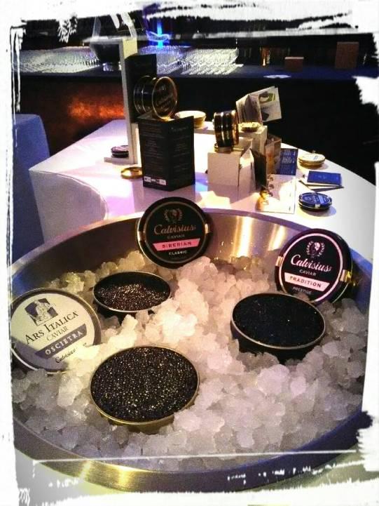 événement entreprise caviar