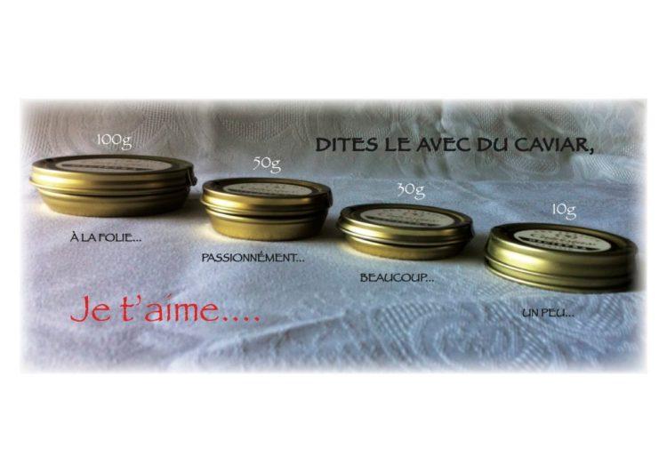 Idee Cadeau 1 An De Couple.Du Caviar Pour La Saint Valentin Coffrets Cadeaux Et