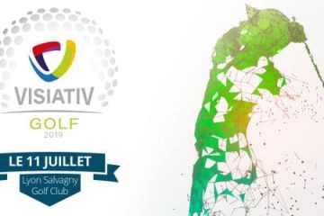 distrilux partenaire trophée golf visiativ, lyon club golf tour de salvagny, 2ème édition golf visiativ