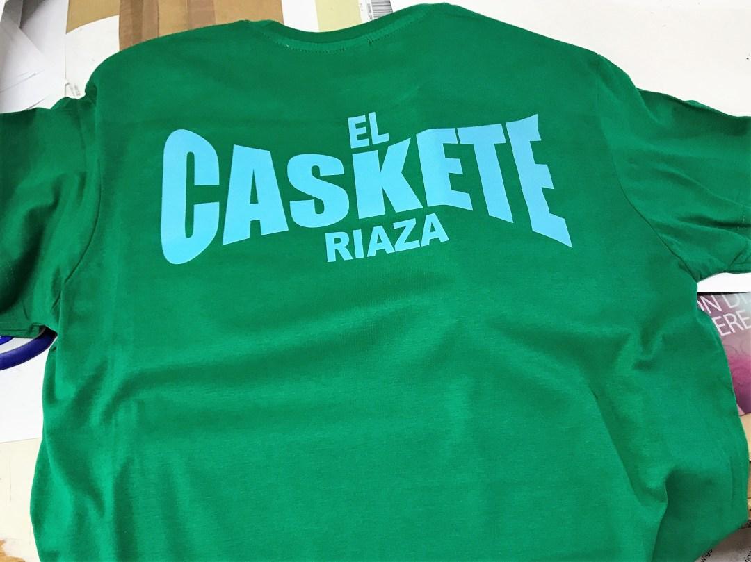 Camiseta personalizada con impresión directa