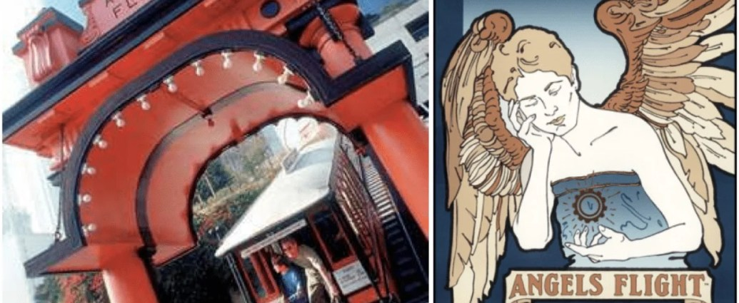 Shortest Railway Line named Angels Flight opened again