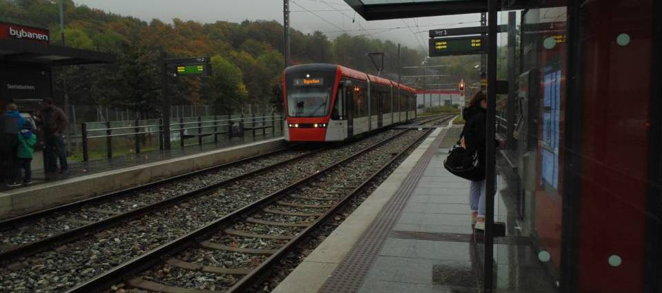 Bergen Light Rail will be built to Åsane