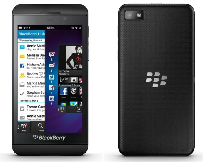 BlackBerry OS 10 for BlackBerry Z10