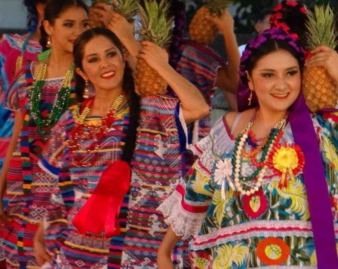 Festival of Guelaguetza in Oaxaca